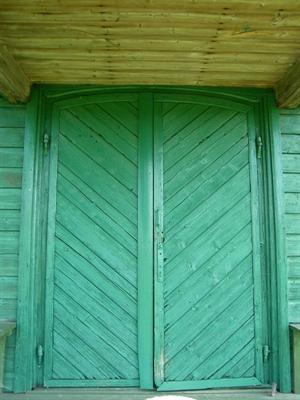 Lukošiškės sentikių cerkvės durys