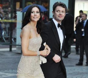 Princas Frederikas su žmona