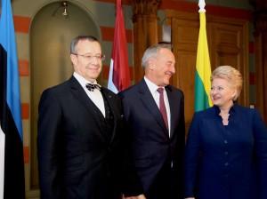 Baltijos šalių vadovai aptarė valstybių saugumo klausimus | lrp.lt, Dž.G.Barysaiitės nuotr.