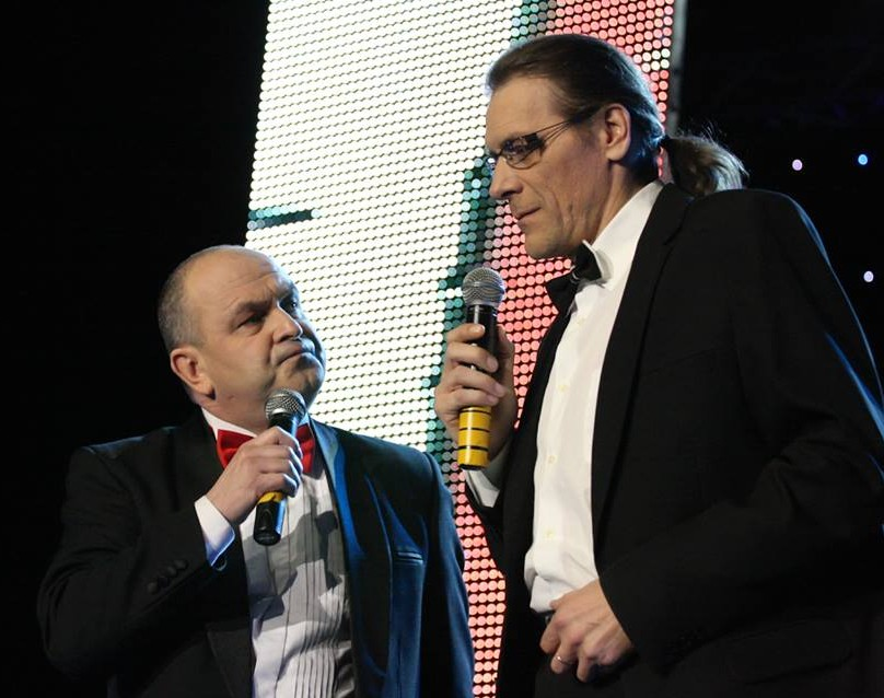 Humoristai. ArtūrasOrlauskas ir Gintautas Kirkila-Klarkas