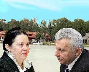 A.Stancikienė ir A.Salamakinas   Alkas.lt nuotr.