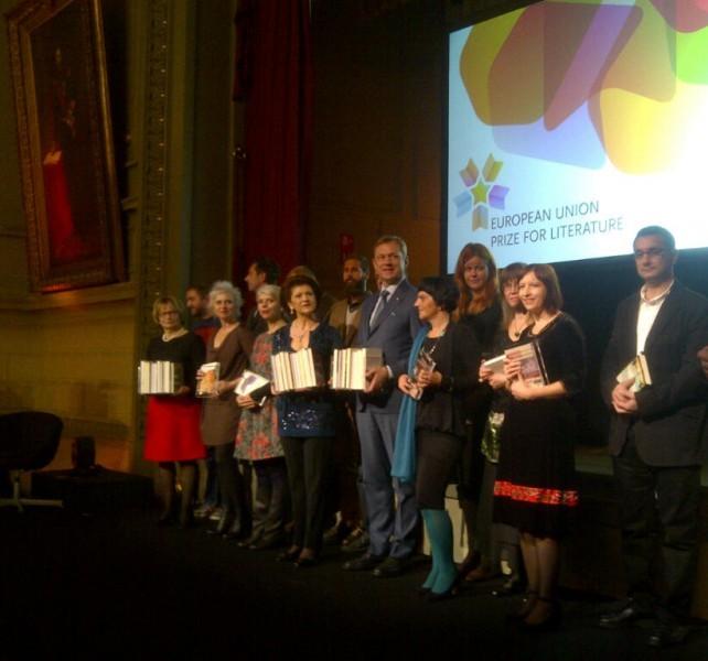 ES literatūros premijų įteikimas | lrkm.lt nuotr.