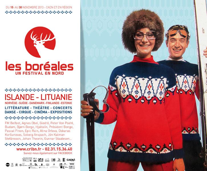 """Šiaurės šalių literatūros ir meno festivalis """"Šiauriečiai"""" (Les Boreales)"""