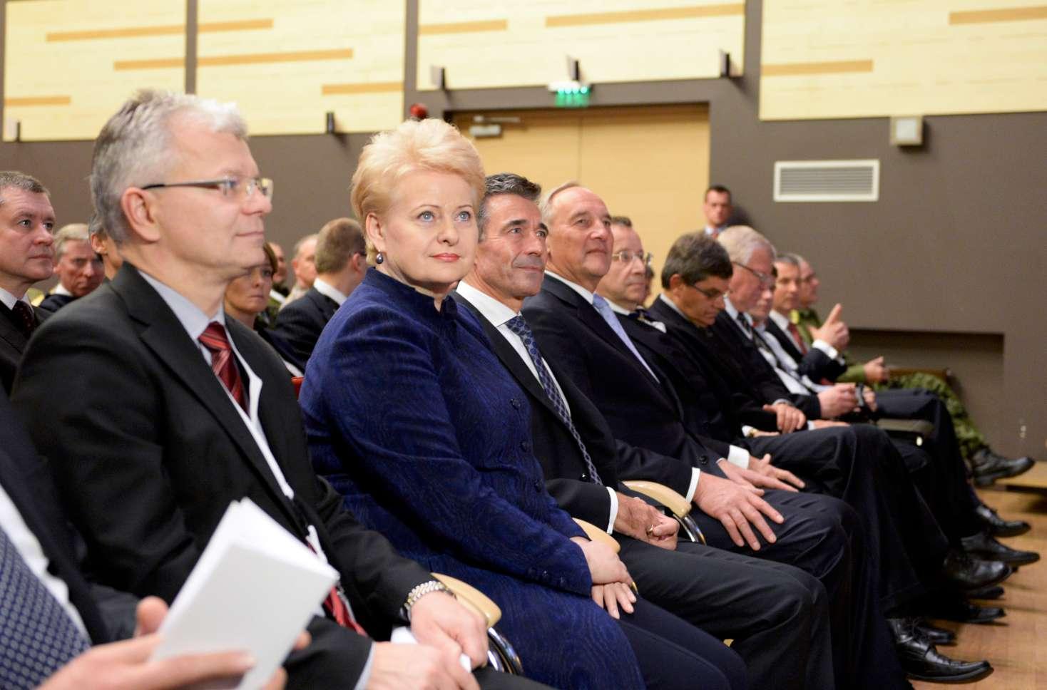 Prezidentė Latvijoje stebėjo NATO karines pratybas | lrp.lt, R.Dačkaus nuotr.
