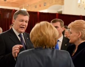 V.Janukovyčius LDK valdovų rūmuose | lrp.lt, R.Dačkaus nuotr.