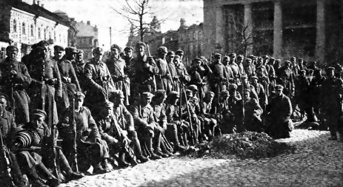 "Lenkų okupantai Vilniuje 1920 m. | ""Wikimedia Commons"" nuotr."