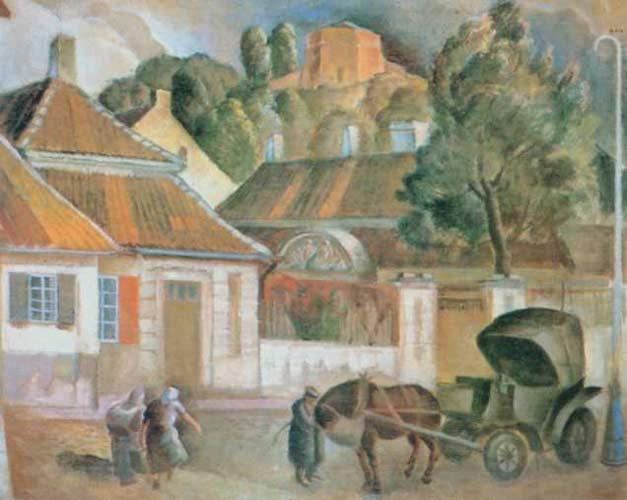 Vilniaus vežėjas | M.Raubos pav. 1934 m., Varšuvos nacionalinis muziejus