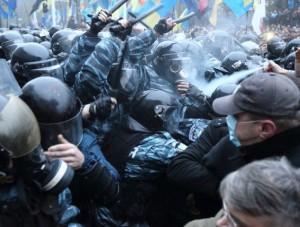 Susirėmimai Kijeve | Ukrainian Foto nuotr.