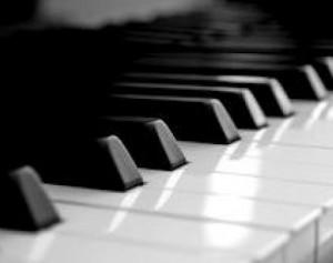 pianino klavišai