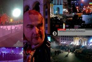 Kijeve -pralietas kraujas | twitter.com nuotr.