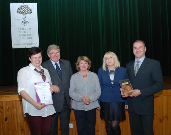 Regina ir Vidas Pykiai su Lenkijos regioninių ir vietinių produktų rūmų vadovais bei Seinų žemės ūkio konsultavimo tarnybos specialisteBalstogėje