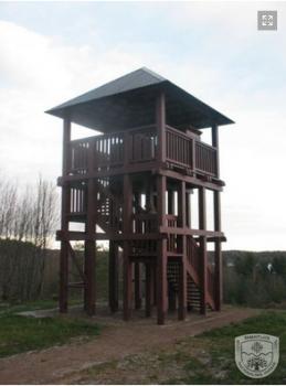 Jogaudų apžvalgos bokštas ir takas   A.Brazdeikytės nuotr.