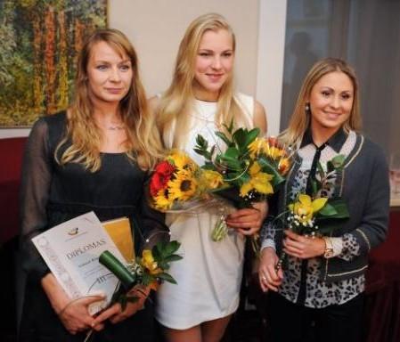 Geriausiais 2013 metų šalies sportininkais išrinkti 16-metė plaukikė Rūta Meilutytė ir 26-erių penkiakovininkas Justinas Kinderis | fotodiena.lt nuotr., valstietis.lt