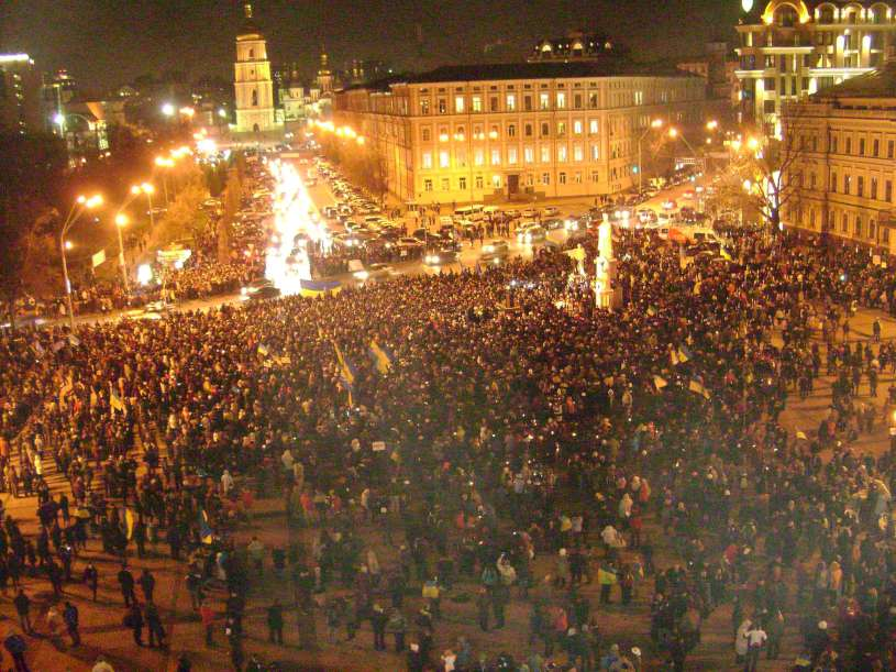 Michailovskio aikštė 2013-11-30 d., 18 val. | J.Kapšučenko nuotr.