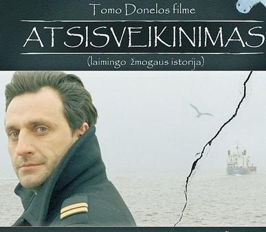 """T.Donelos filmo """"Atsisveikinimas"""" plakatas"""