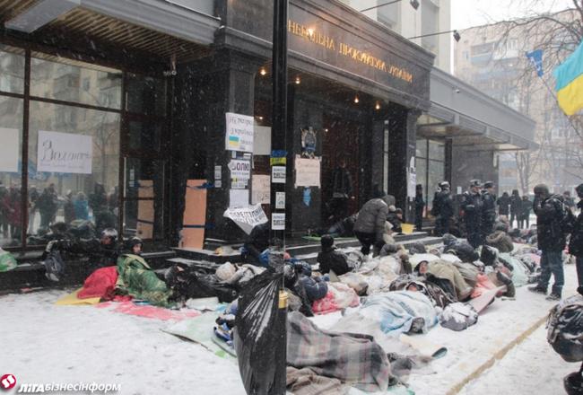 """Gulamoji"" protesto akcija"