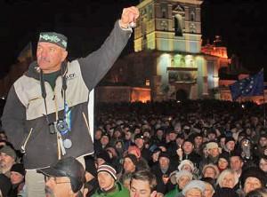 Ukrainoje bręsta revoliucija | RadioSvoboda.org nuotr.