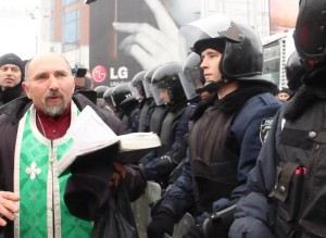 Ukraina. Maidanas   Hromadske.TV nuotr.