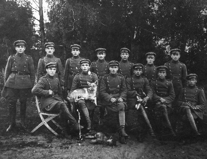 Pasienio milicininkai apie 1923 m.