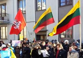 Ukrainos palaikymo renginys | kukrlt.lt nuotr.