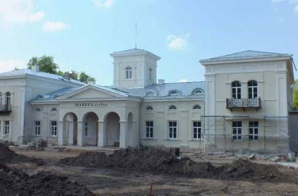 Burbiškio dvaro rūmai (Anykščių r.) | Indrės Užuotaitės nuotr.