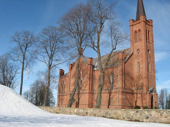 Evangelikų liuteronų bažnyčia Biržuose | KPD Panevėžio teritorinio padalinio nuotr.