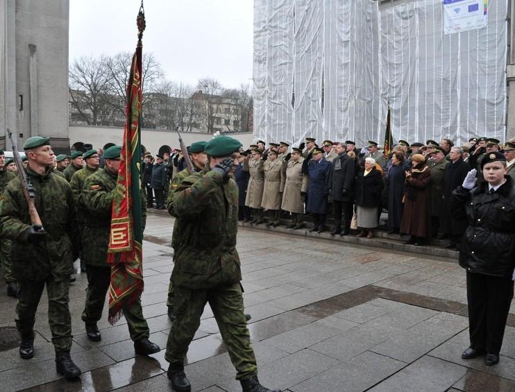 Lietuvos kariuomenės karo mokyklos 95-metis | ordinatoriatas.lt nuotr.