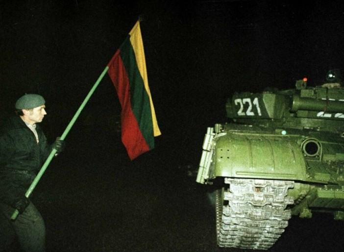 Sausio 13-oji Lietuvoje 1991 m. | lt.wikipedija.org nuotr.