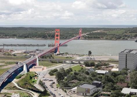 Tiltas į Kuršių Neriją | portoklaipeda.lt nuotr.