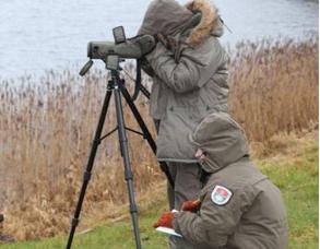 Vykdoma vandens paukščių apskaita | Žemaitijos nacionalinio parko nuotr.