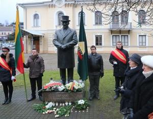 Antano Smetonos 70-ųjų žūties metinių minėjimas Kaune Istorinės Prezidentūros sodelyje | Kaunas.lt nuotr.