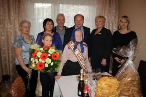 Šimtametė Anastazija Lapinskienė
