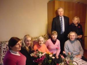 Marijos Matiukaitės Gudaitienės jubiliejus
