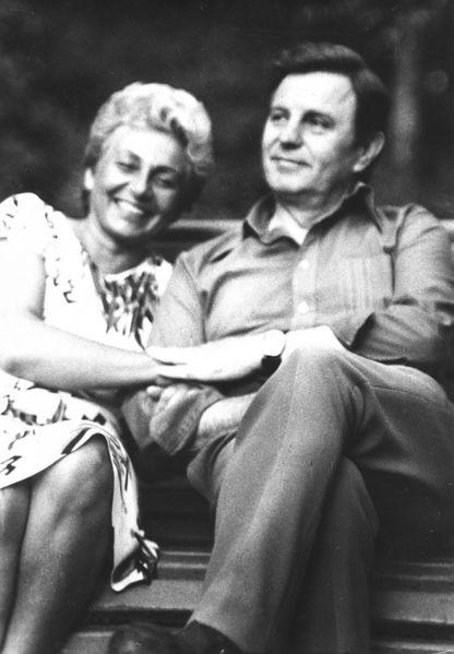 Genovaitė ir Justinas Marcinkevičiai apie 1972 m. | Lietubos.lt nuotr.