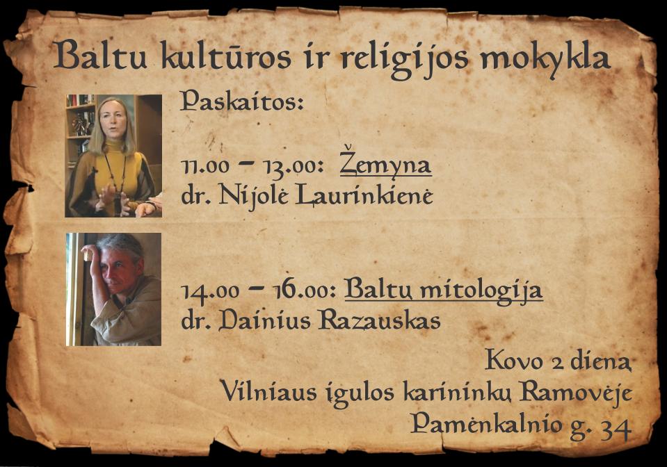 Baltų kultūros ir religijos mokykla