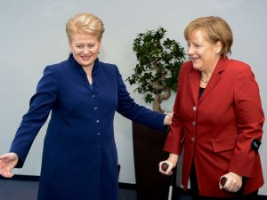 Dalia Grybauskaitė ir Angela Merkel | lrp.lt, R.Dačkaus nuotr.