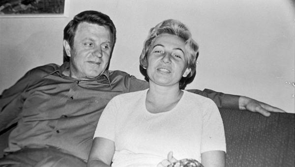 Justinas ir Genovaitė Marcinkevičiai 1976 m. | Šeimos nuotr.