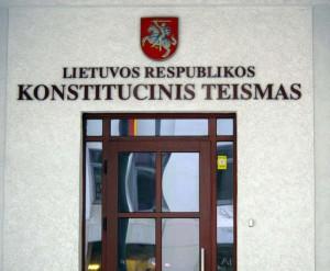 Konstitucinis Teismas | Alkas.lt, A.Rasakevičiaus nuotr.