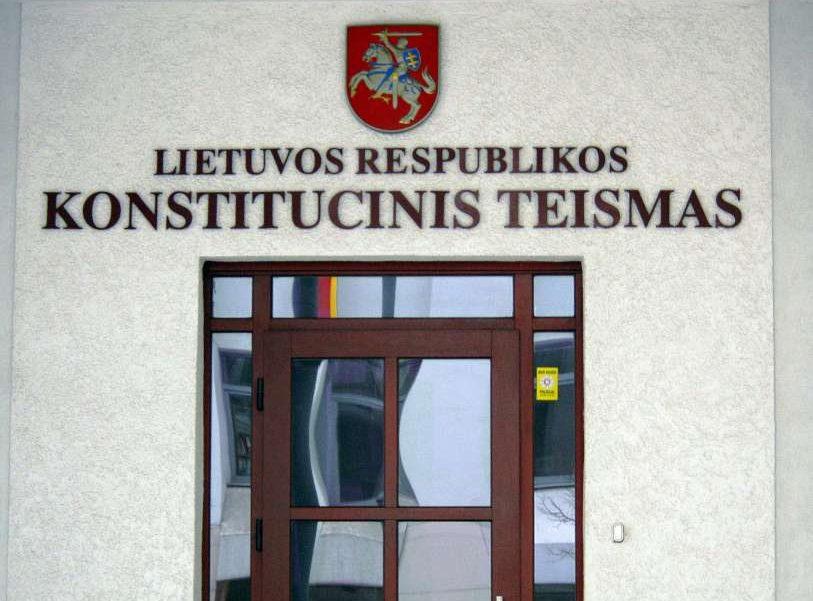 Konstitucinis Teismas   Alkas.lt, A.Rasakevičiaus nuotr.