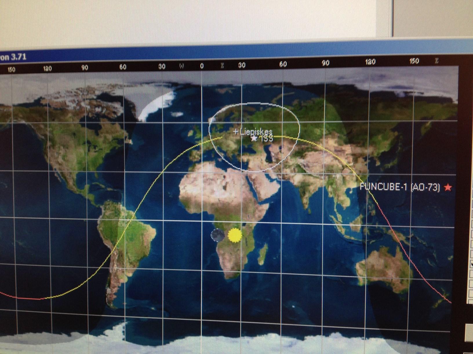 """Užmegztas ryšys su palydovu """"LitSat-1"""