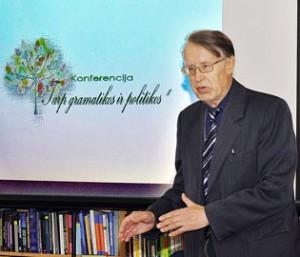 dr. Pranas Kniūkšta | pajurionaujienos.com nuotr.