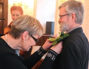 Poetui Vladui Braziūnui įteikta Bernardo Brazdžionio premija | Kaunas.lt nuotr.