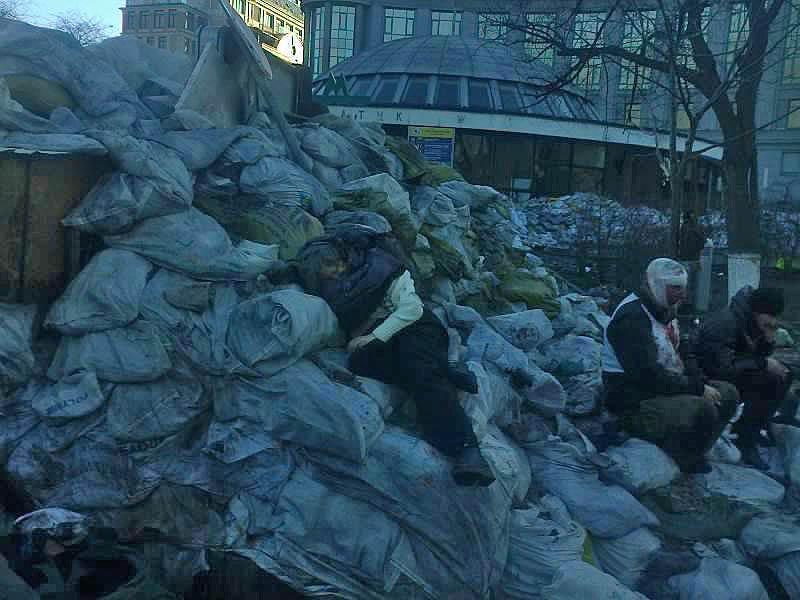 Žuvusieji. Vasario 18 d. Kijevas | maidan.org.ua Feisbuko paskyros nuotr.