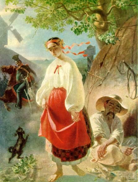 T.Ševčenka. Kateryna Olia. 1842m. | commons.wikimedia.org nuotr.