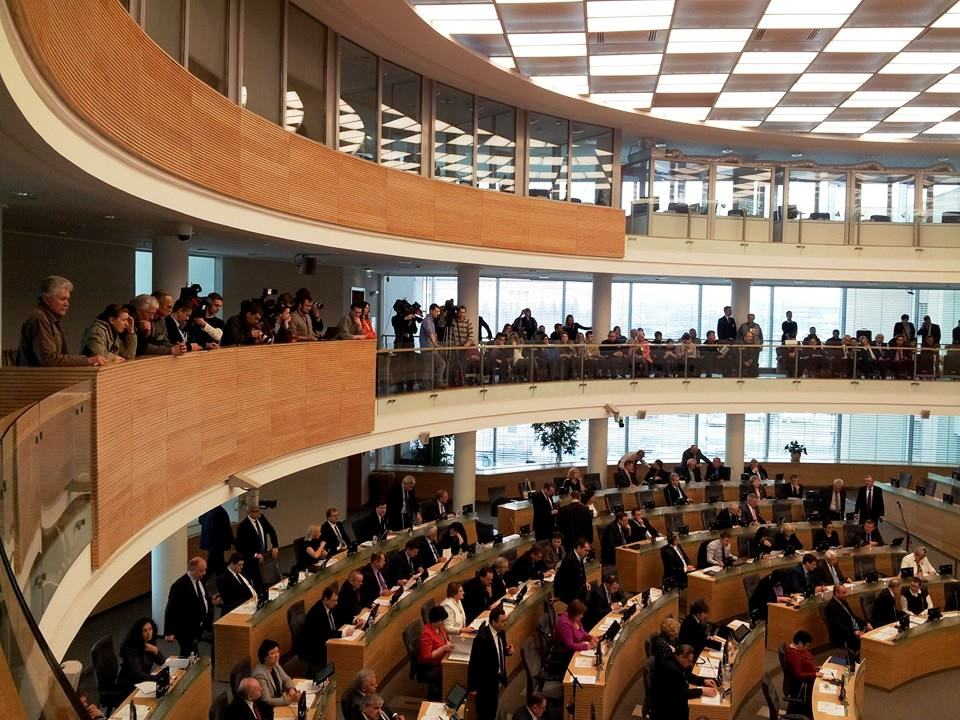 Referendumo palaikymas Seime | Alkas.lt, A.Rasakevičiaus nuotr.
