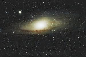 Andromedos galaktika | A.Birbilo nuotr.