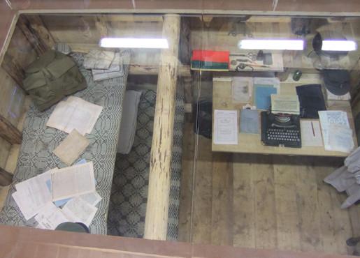 Minaičiuose (Radviliškio r.) atstatytas bunkeris, kuriame buvo pasirašyta 1949 m. vasario 16-osios Deklaracija | aidas.lt nuotr.