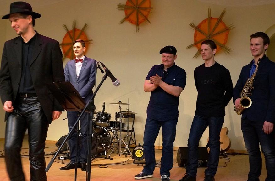 Druskininkų džiazo kolektyvas Kintuose
