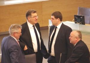 Butkevičius, Seimas, Socialdemokratai