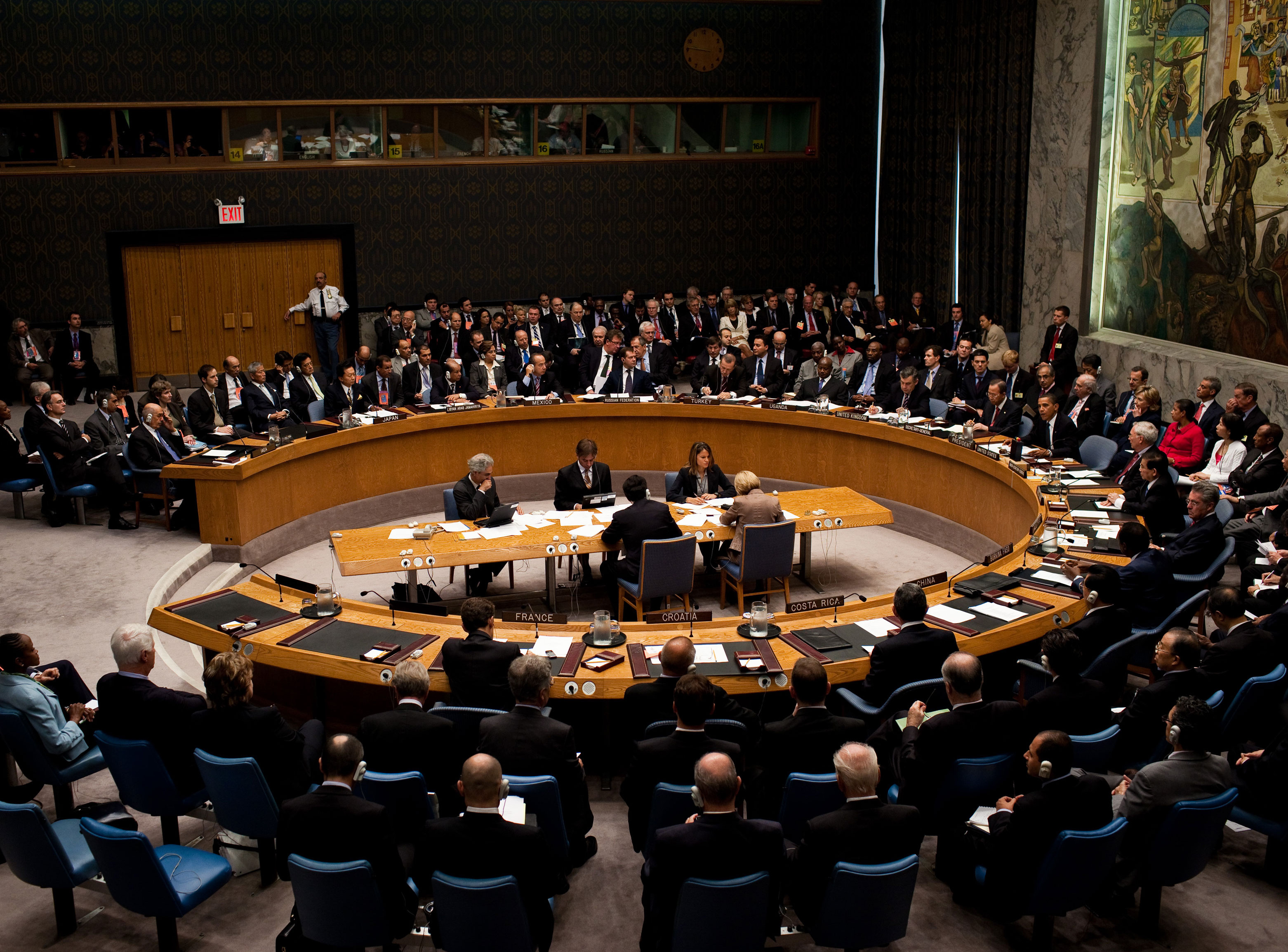 Jungtinių Tautų (JT) Generalinė Asamblėja | en.wikipedija.org nuotr.